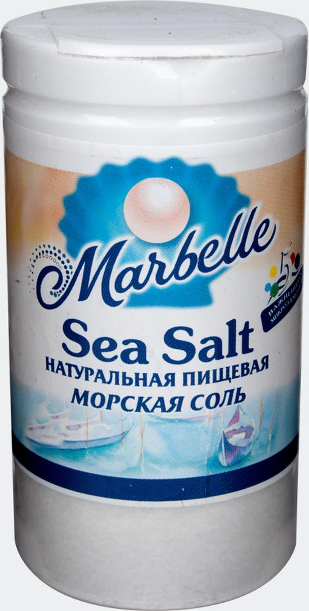 Marbellе морская соль мелкая, 80 г цена