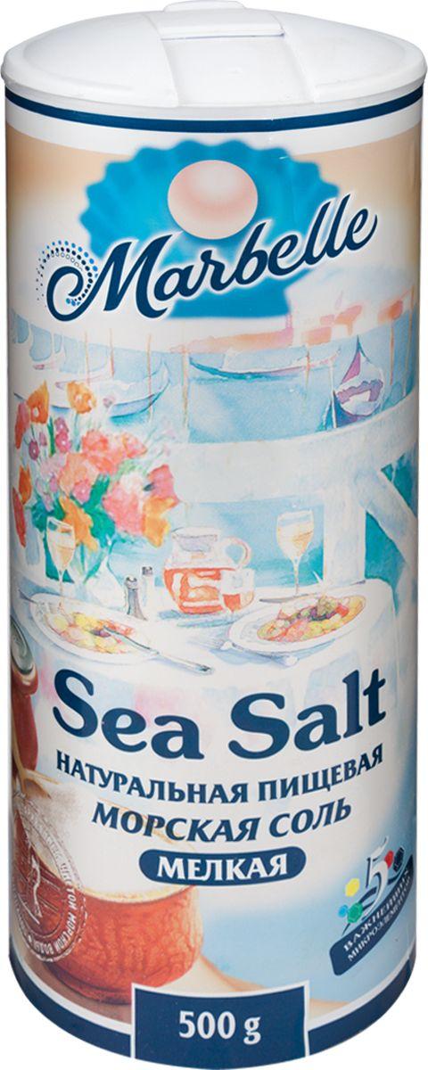 Marbellе морская соль мелкая, 500 г соль setra морская мелкая йодированная 500 г