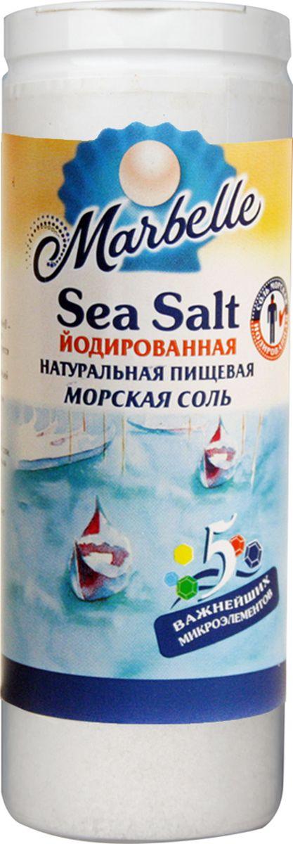 Marbellе морская соль йодированная мелкая, 150 г соль setra морская мелкая йодированная 500 г
