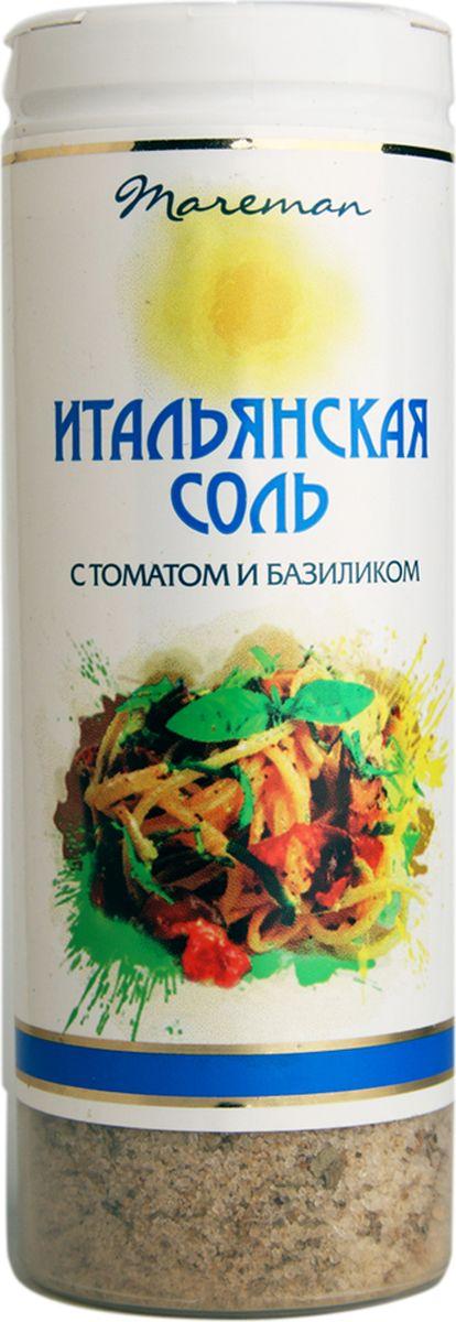 Mareman соль Итальянская, 140 г цена