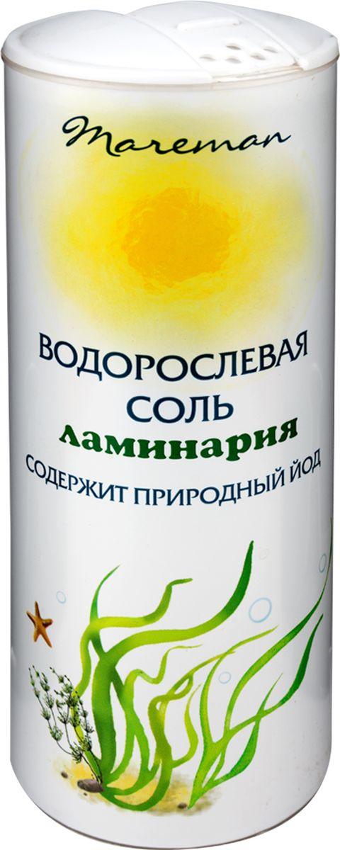 Mareman водорослевая соль ламинария, 150 г цена