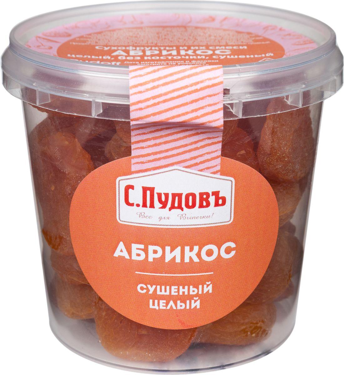 Пудовъ абрикос сушеный целый, 250 г