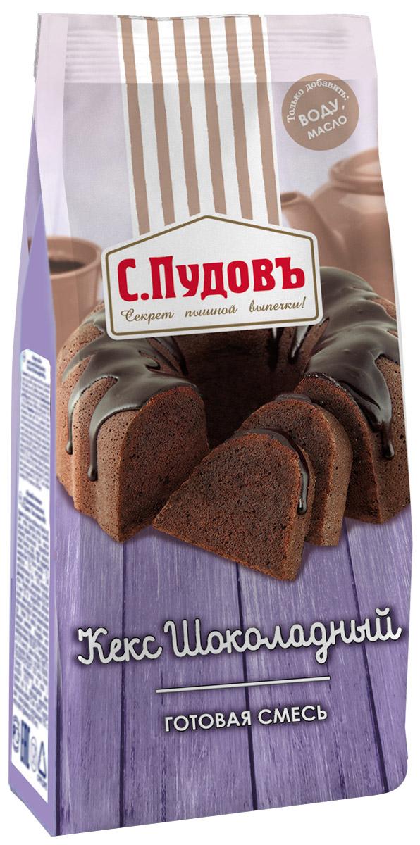 купить Пудовъ кекс шоколадный, 400 г по цене 92 рублей