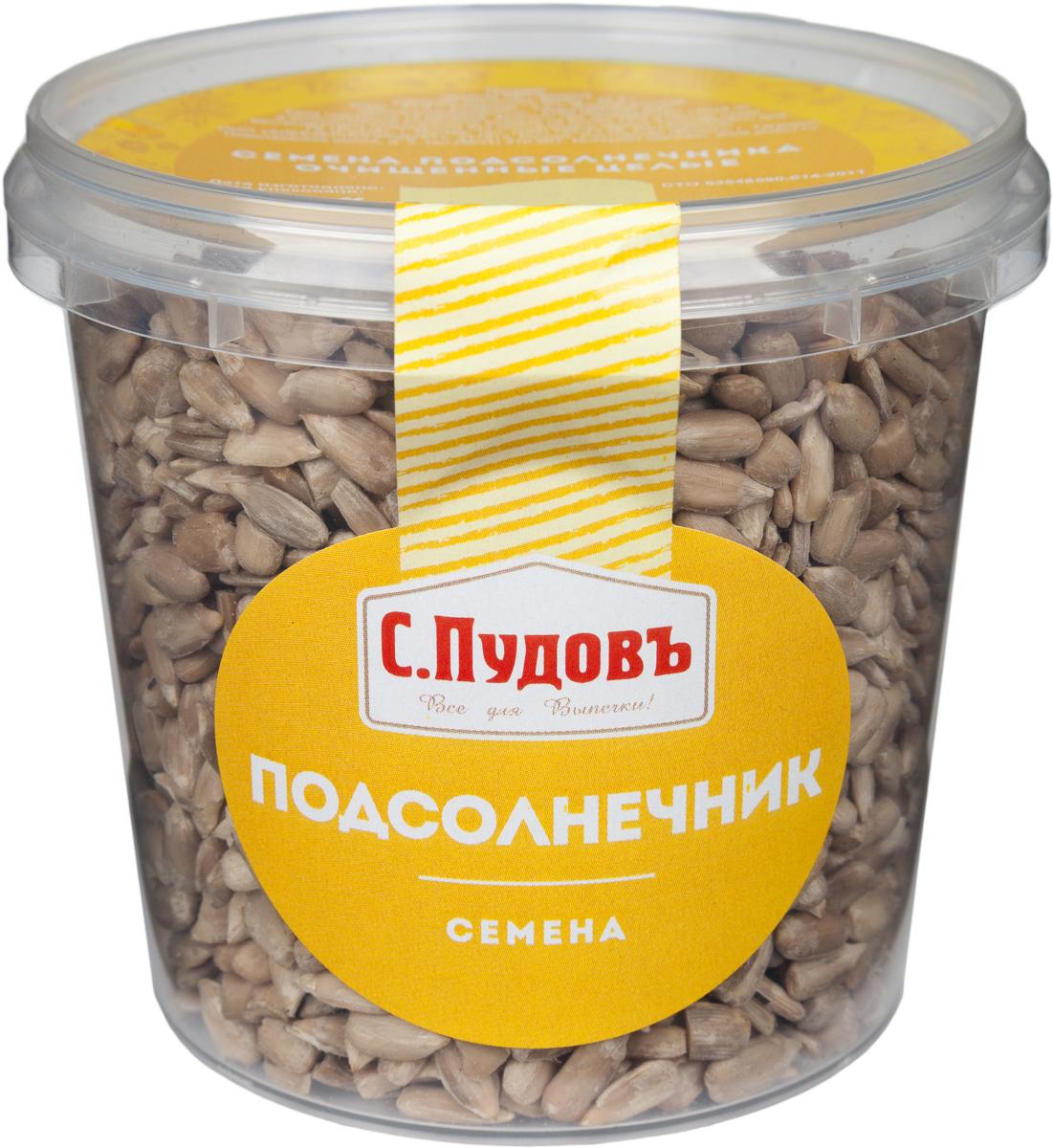 Пудовъ семена подсолнечника очищенные целые, 170 г