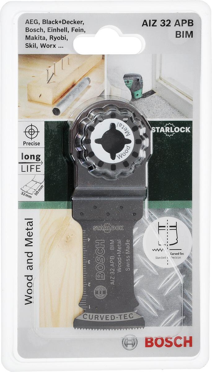 Пильное полотно Bosch Bim по дереву и металлу, для PMF 180, 28х50 мм пильное полотно по дереву bosch hcs для pmf 180 30х10 мм