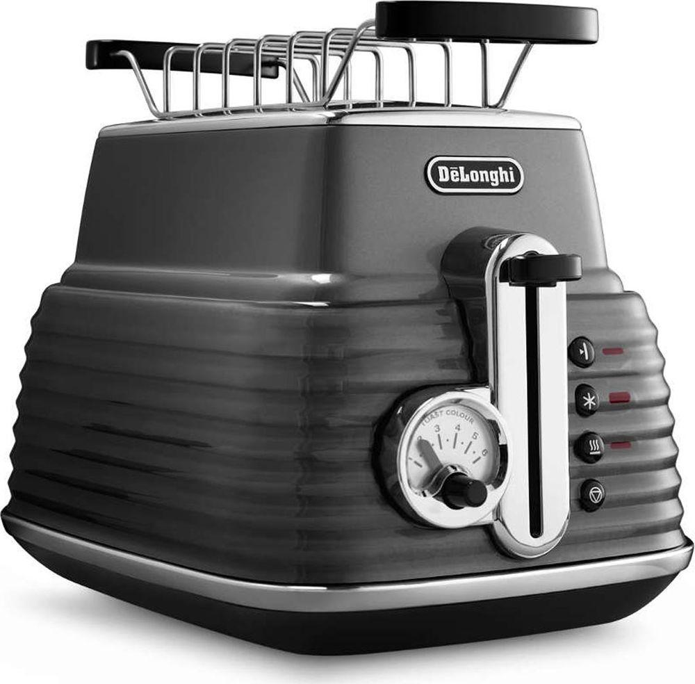 DeLonghi Scultura CTZ 2103.GY, Grey тостер цена