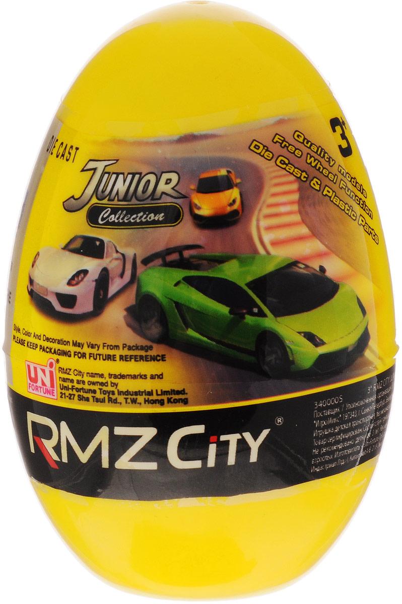 Uni-Fortune Toys Яйцо с моделью автомобиля цвет желтый
