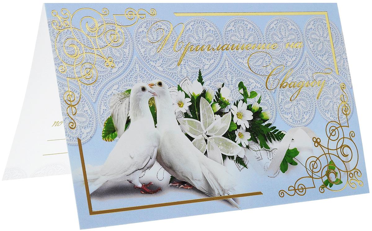 Свадебные открытки с голубями, цветами