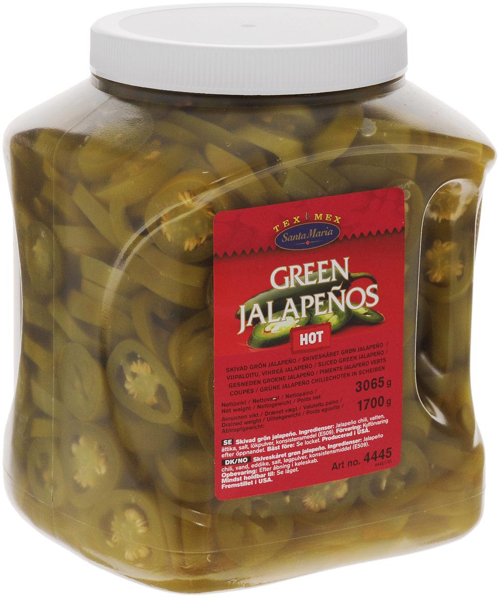 Santa Maria Зеленый перец халапеньо, 3065 гр