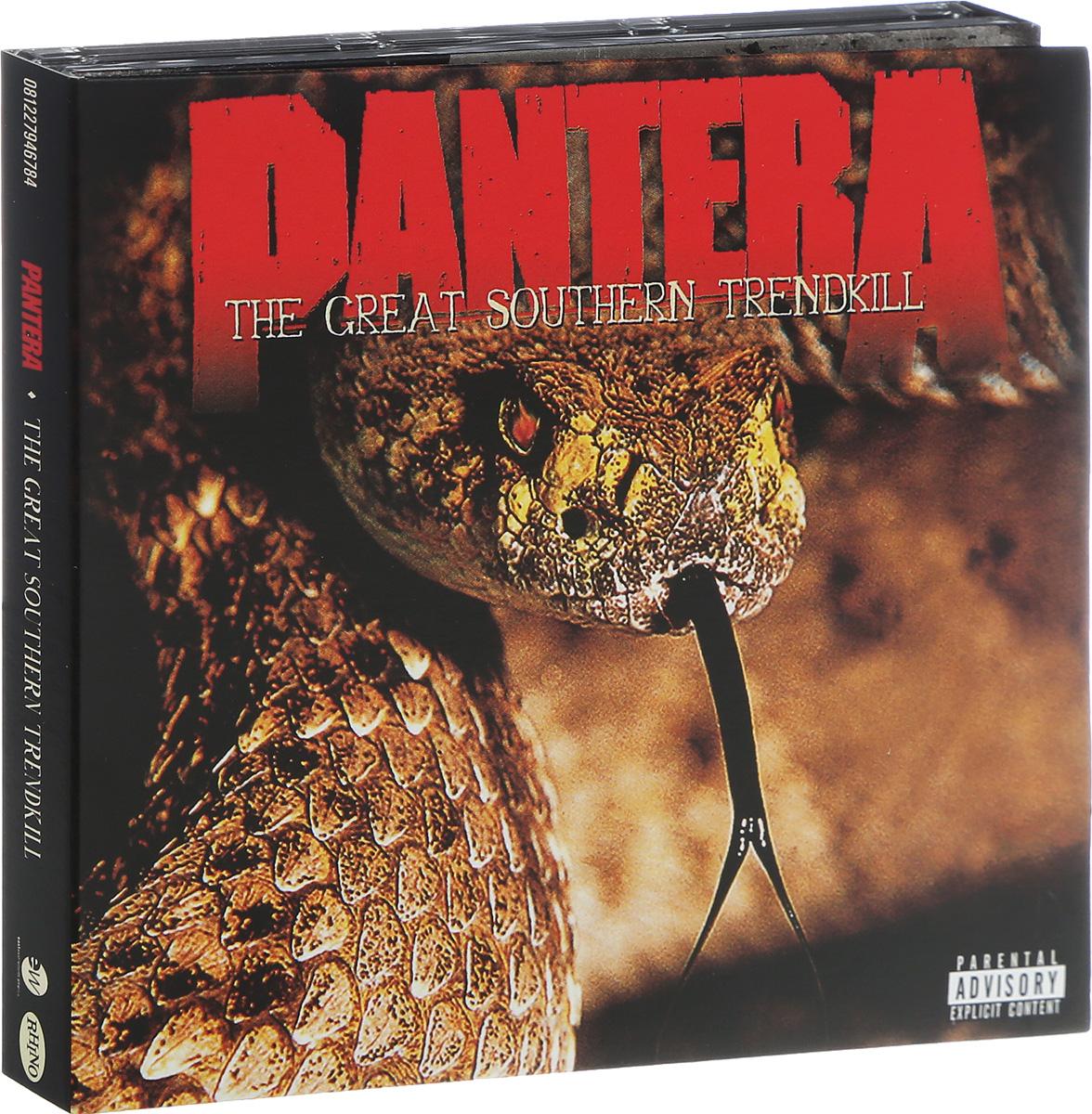 Pantera Pantera. The Great Southern Trendkill (2 CD) pantera pantera the great southern trendkill 2 lp 180 gr