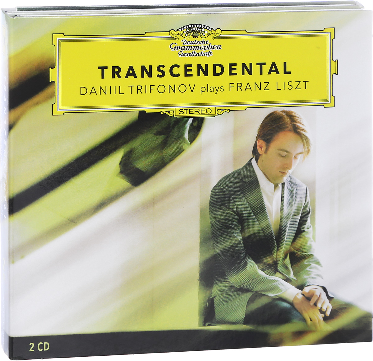 Даниил Трифонов Daniil Trifonov. Franz Liszt. Transcendental (2 CD) daniil trifonov chopin evocations