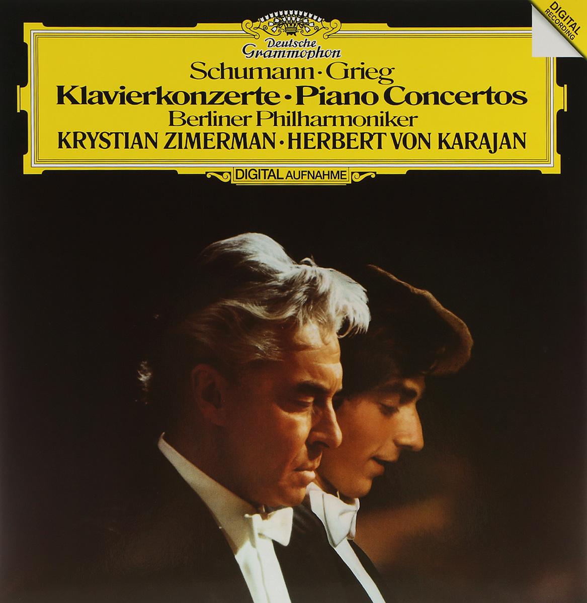 Герберт Караян,Berliner Philharmoniker Herbert Von Karajan. Schumann. Grieg. Klavierkonzerte (LP) цена и фото