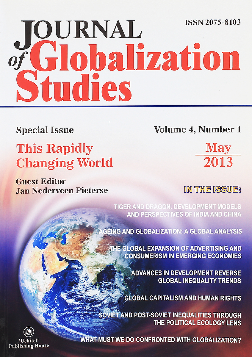 Journal of Globalization Studies: Volume 4: Number 1: May 2013