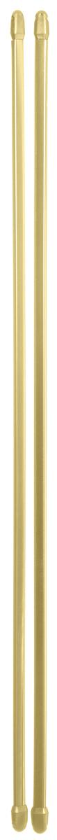 Штанга однорядная Эскар, телескопическая, цвет: латунь, длина 60-90 см, 2 шт закругление для потолочной шины эскар наружное двухрядное 90 градусов
