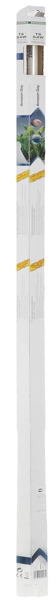 Лампа люминесцентная Dennerle Amazon Day, Т5, 54 Вт, длина 1,2 м лампа люминесцентная dennerle color plus т8 58 вт длина 150 см