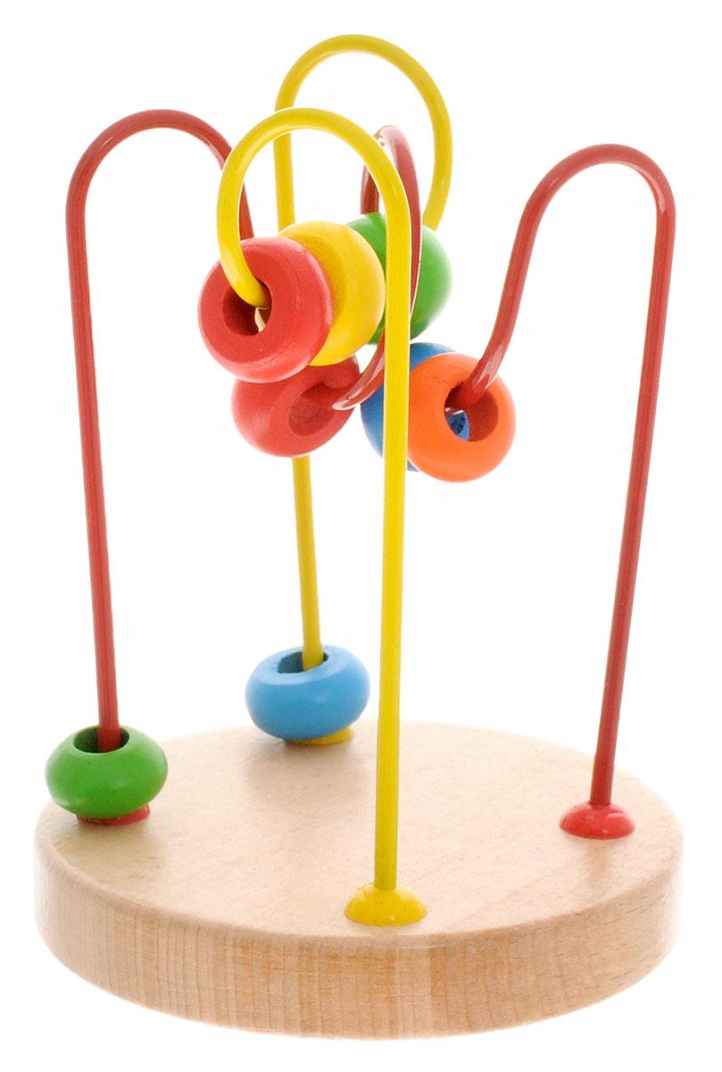 Фото - Мир деревянных игрушек Лабиринт № 4 мир деревянных игрушек развивающая игрушка стучалка шарик и гвоздики