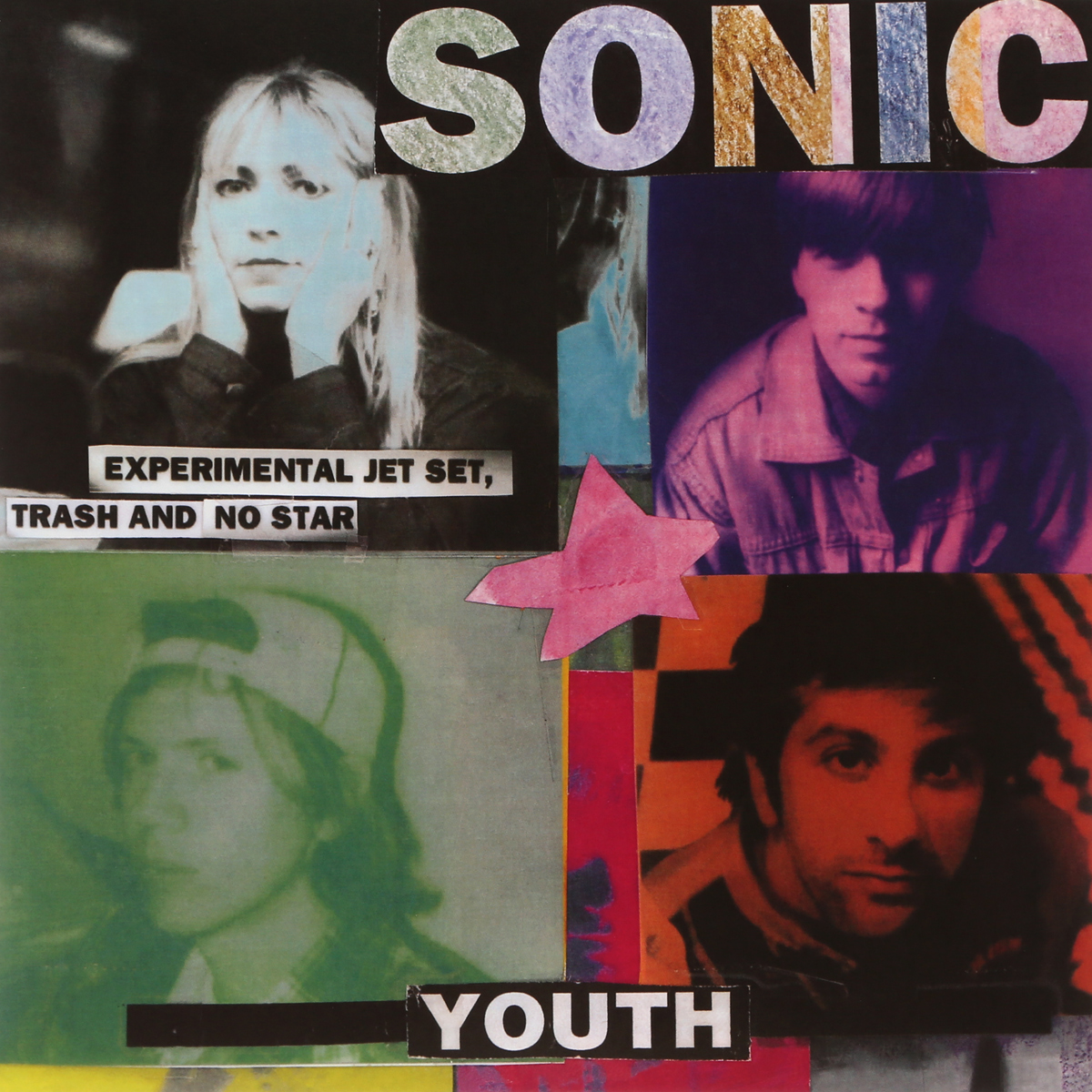 Sonic Youth Sonic Youth. Experimental Jet Set, Trash And No Star (LP) sonic youth sonic youth dirty 2 lp