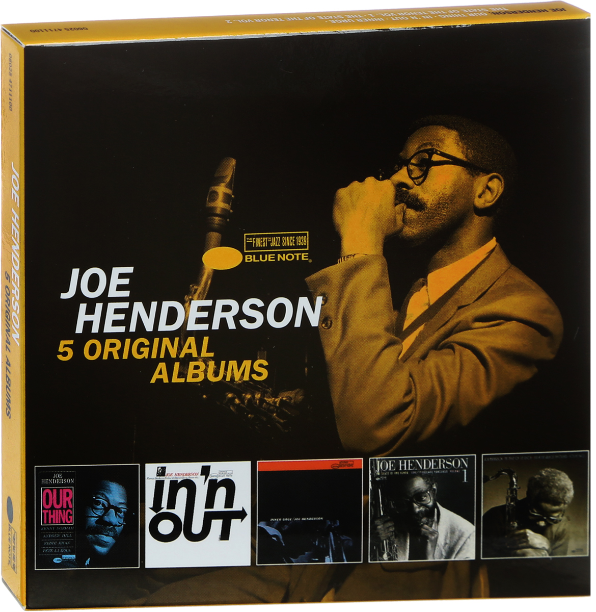 Джо Хендерсон Joe Henderson. 5 Original Albums (5 CD) джо сатриани joe satriani original album classics 5 cd