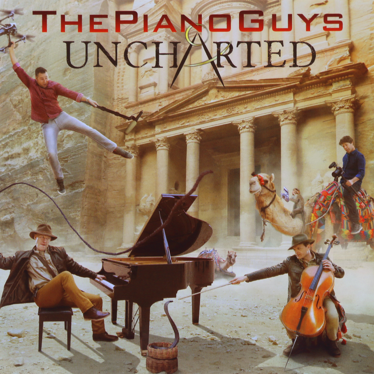 The Piano Guys The Piano Guys. Uncharted sky guys