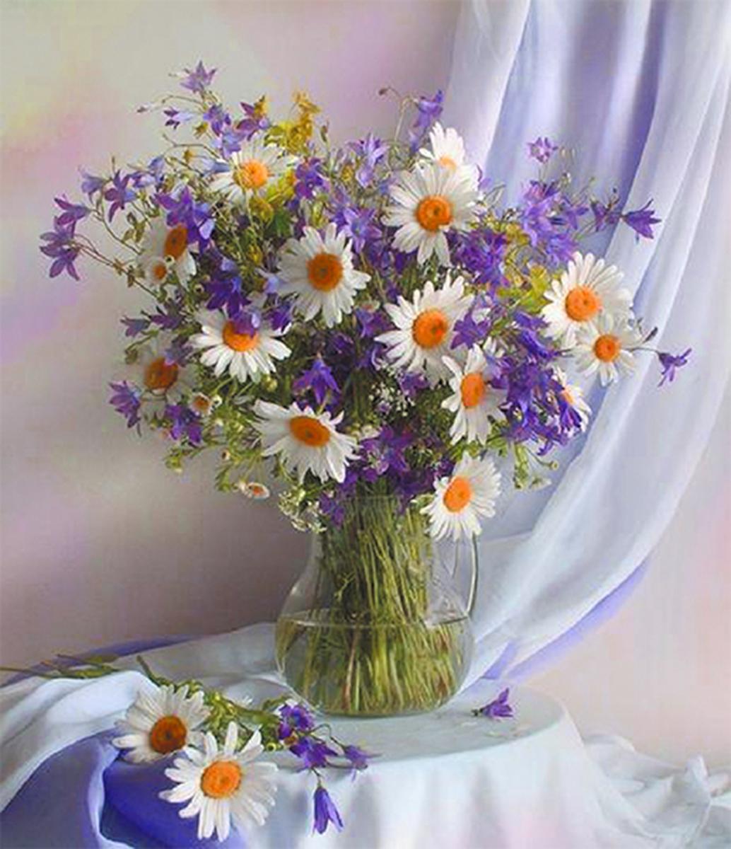 шапки красивые букеты из полевых ромашек фото количество мини-садов
