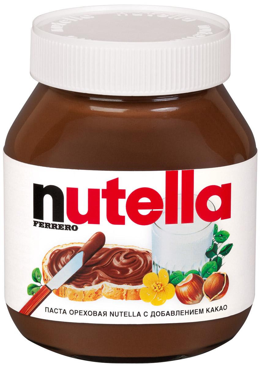 Паста ореховая Nutella с добавлением какао, 180 г шоколадная паста nutella 350г