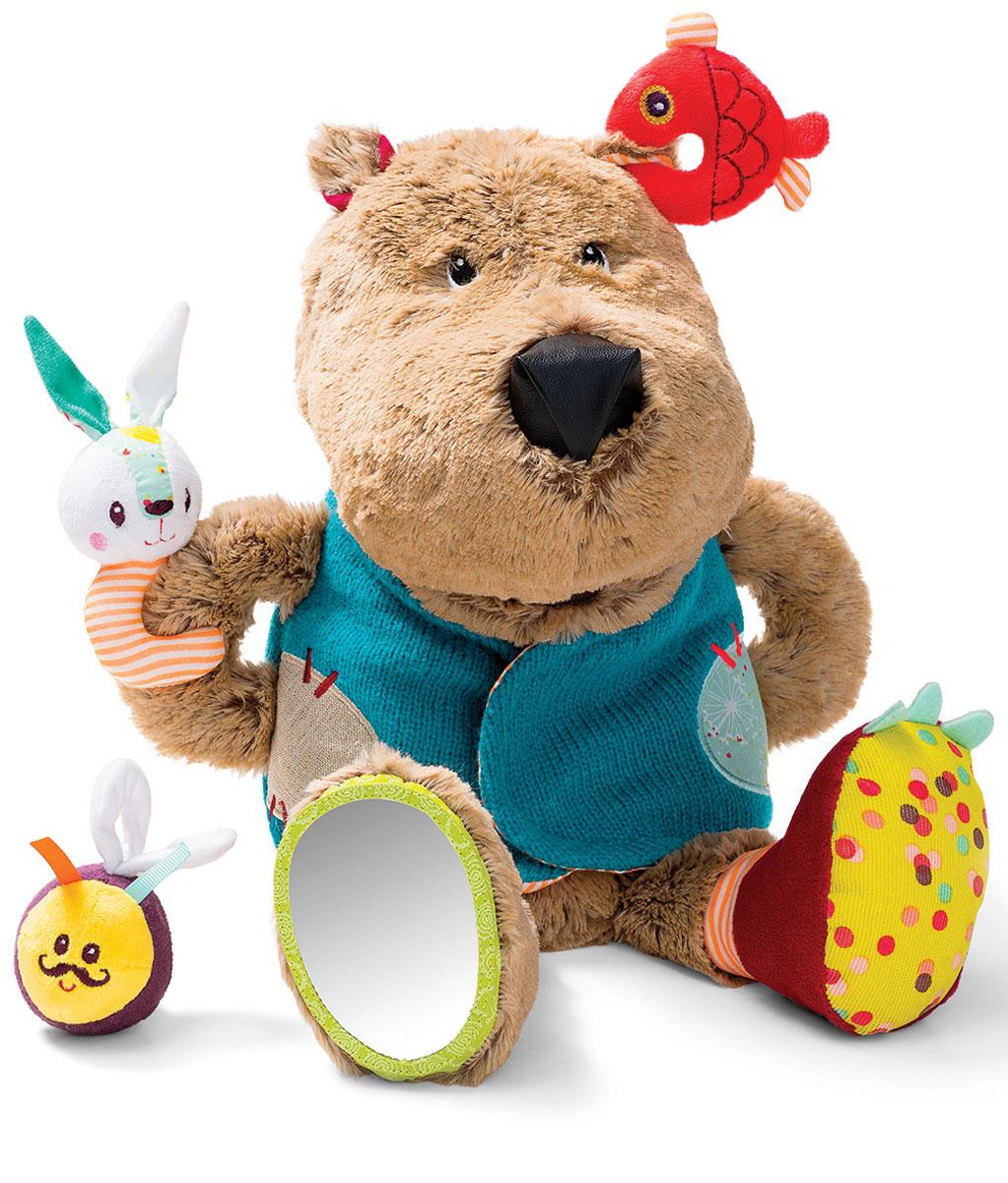 Lilliputiens Развивающая игрушка Медвежонок Цезарь