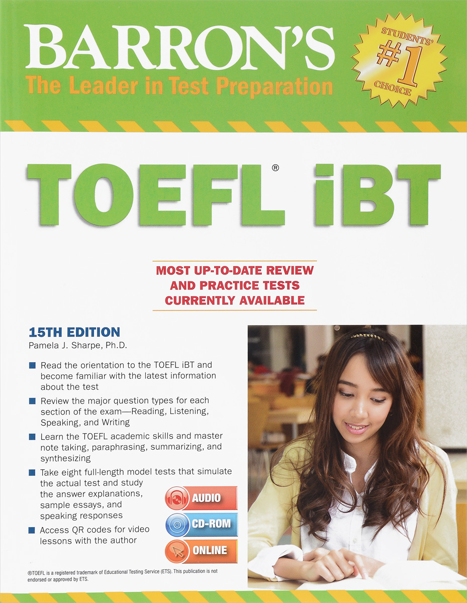 TOEFL iBT (+ 3 CD) longman introductory course for the toefl test the paper test student book and cd rom with answer key