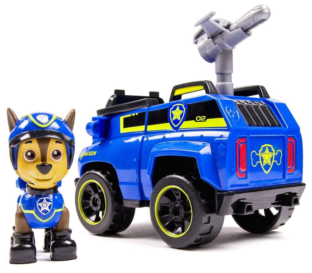 Paw Patrol Игровой набор Машинка спасателя и щенок Chase 20068616 paw patrol игровой набор машинка спасателя и щенок rocky цвет зеленый серый оранжевый