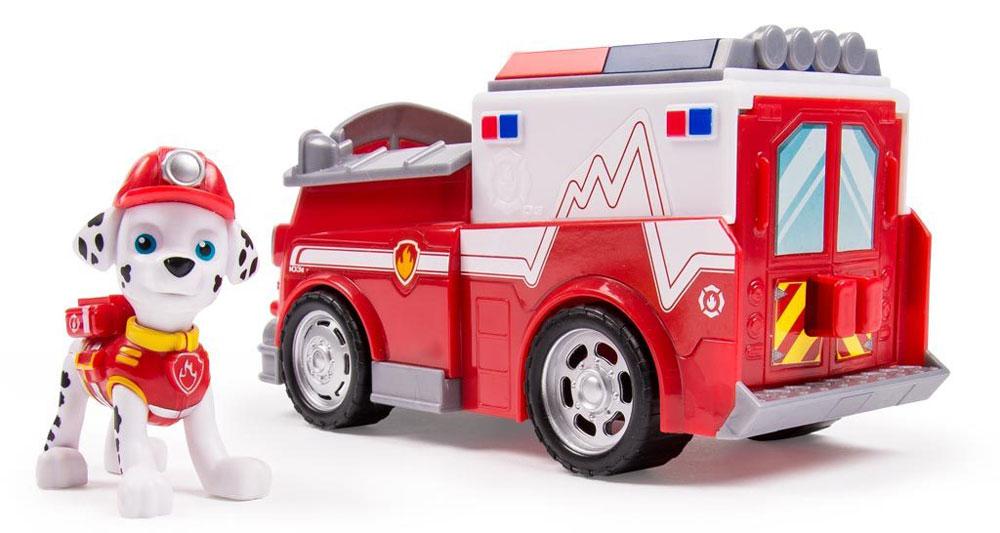 Paw Patrol Игровой набор Машинка спасателя и щенок Marshall paw patrol фигурка marshall 16612 20078994