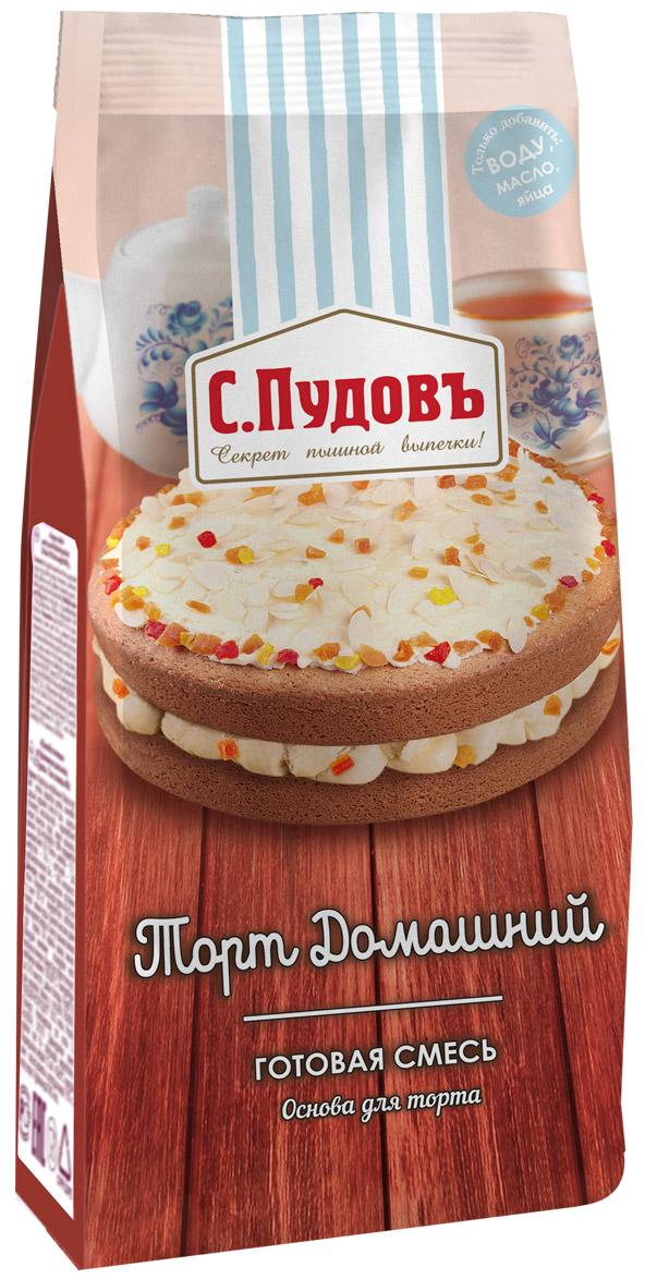 Пудовъ торт домашний, 400 г пудовъ торт брауни 350 г