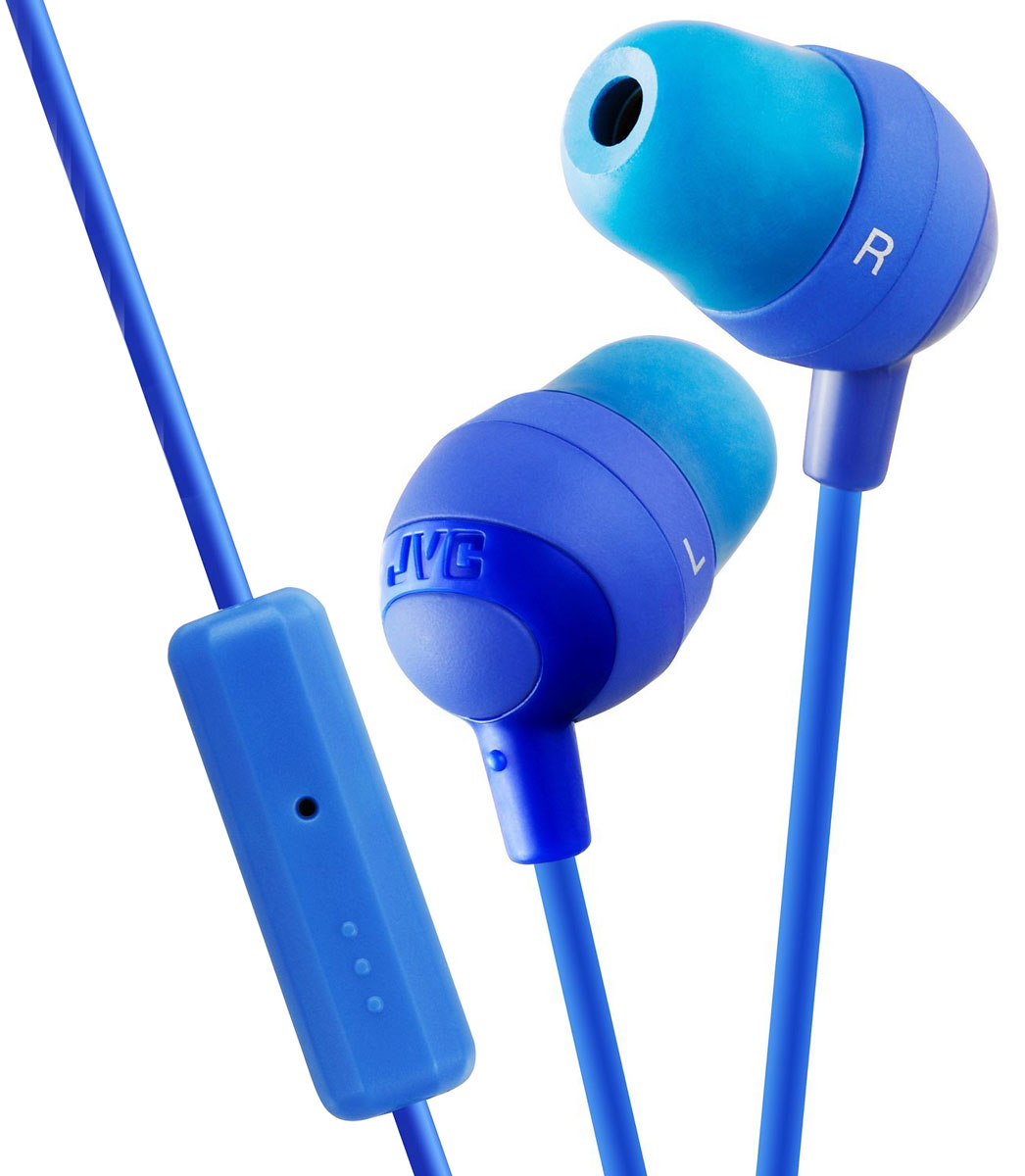 JVC Marshmallow HA-FR37-A, Blue наушники наушники jvc ha fx30a blue