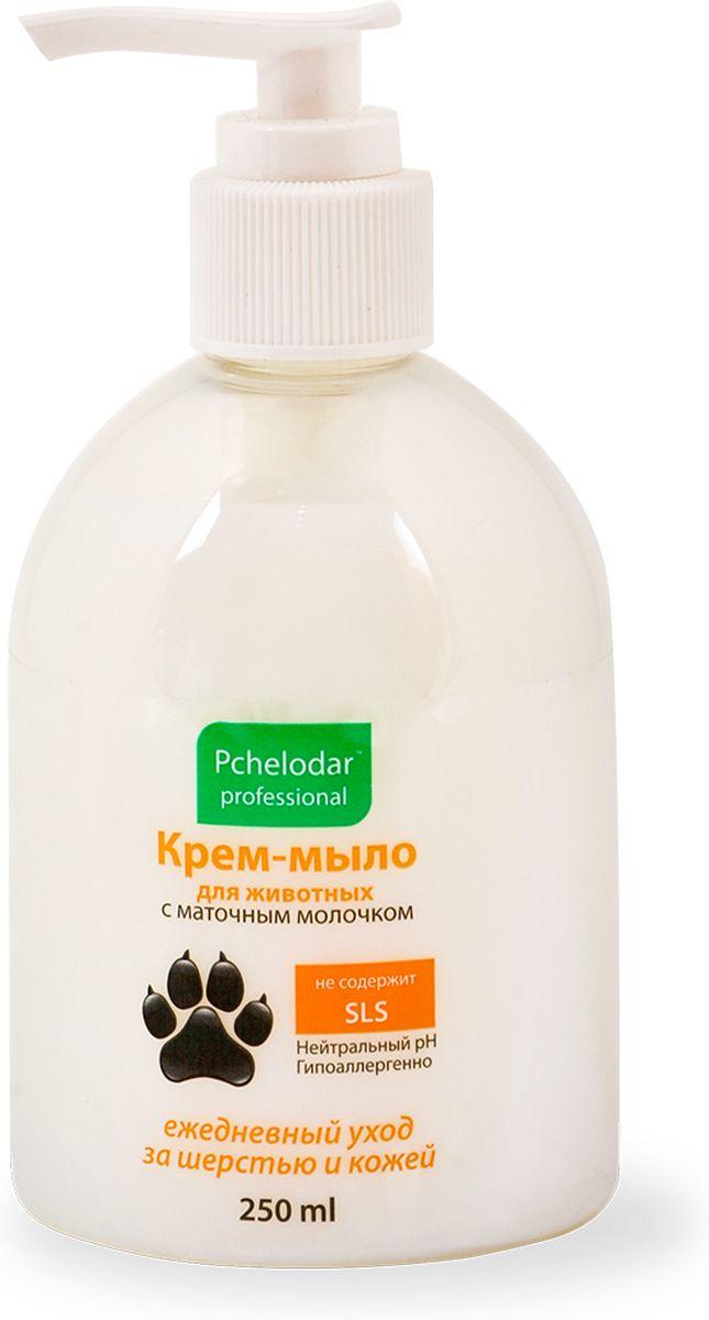 """Крем-мыло для животных """"Пчелодар"""", с маточным молочком, 250 мл"""