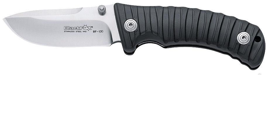 Нож складной Fox Black Fox, цвет: черный, длина клинка 9 см. OF/BF-131 B