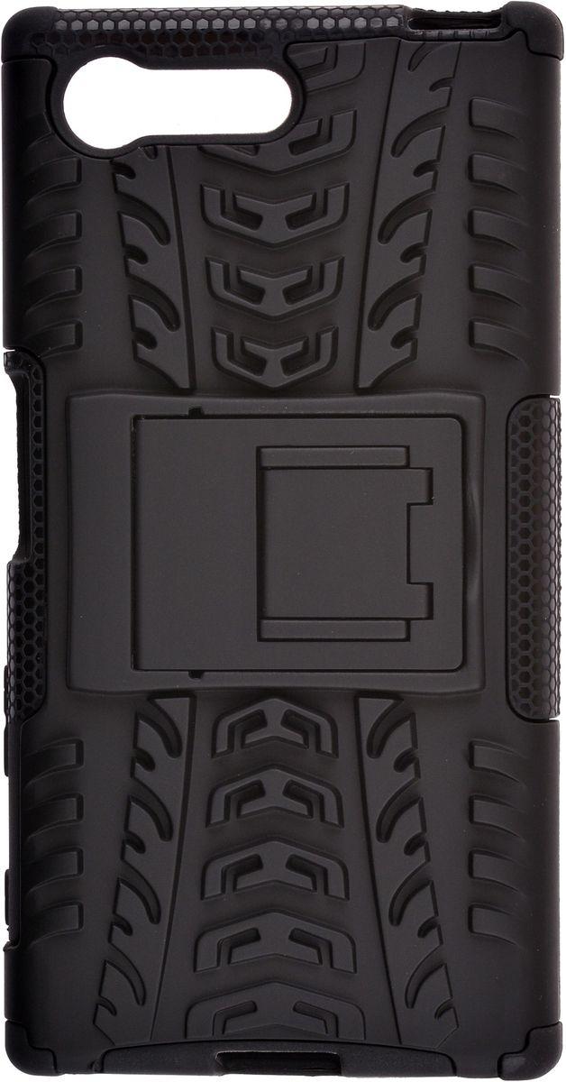 Skinbox Defender Case чехол для Sony Xperia X Compact, Black цена и фото