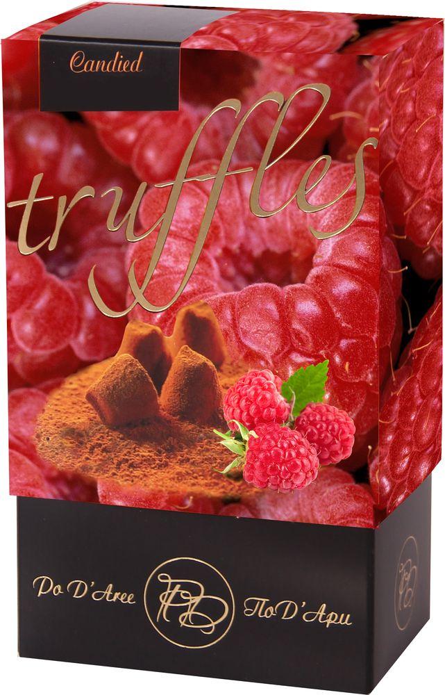 Chocolat Mathez Набор конфет Трюфель французский со вкусом малины, 160 г baron французские трюфели с кусочками малины 100 г