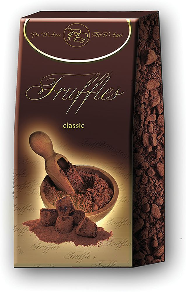 Chocolat Mathez Набор конфет Трюфель французский классический, 200 г baron французские трюфели с кусочками малины 100 г