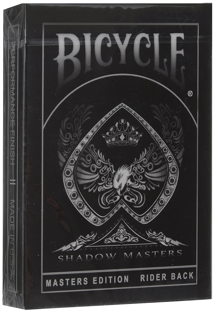 Карты игральные Bicycle Shadow Masters, 54 карты mymei outdoor 90db ring alarm loud horn aluminum bicycle bike safety handlebar bell