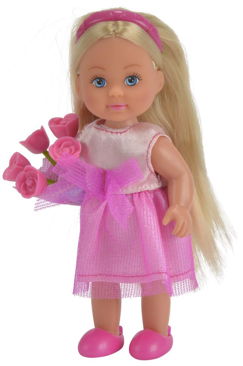 Simba Мини-кукла Еви-подружка невесты цвет платья розовый
