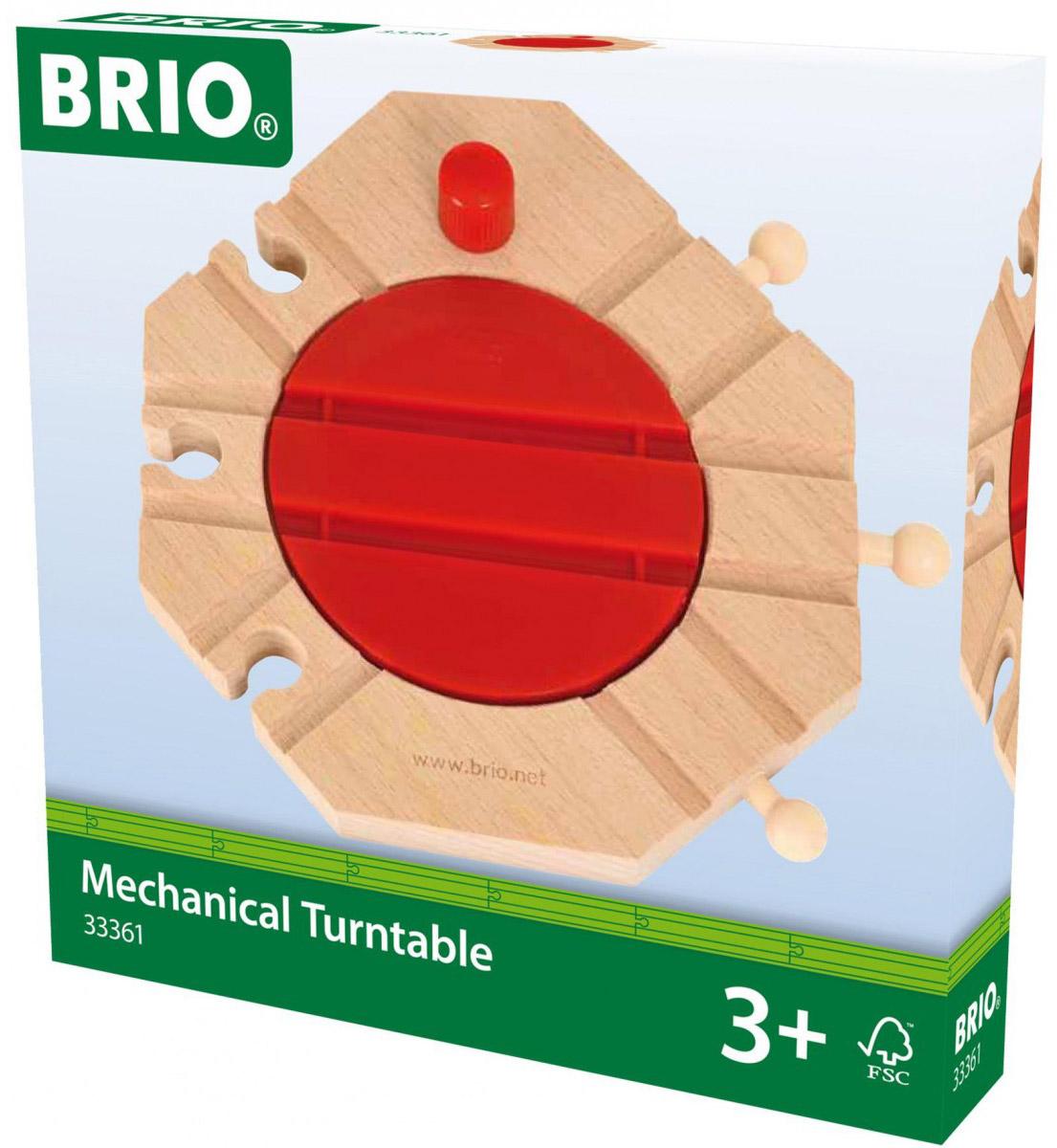 Brio Механический перекресток для железнодорожного полотна