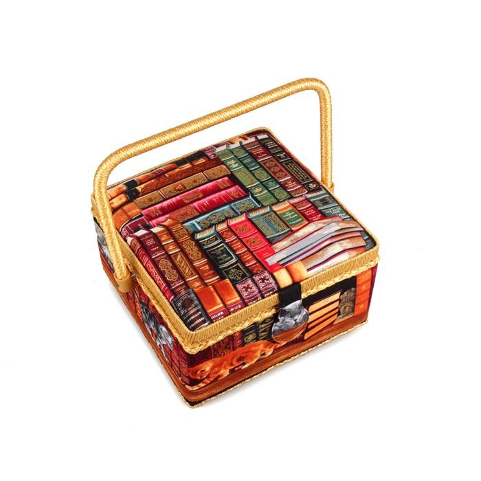 Шкатулка для рукоделия RTO, с вкладышем, 23 х 23 х 14 см ткань для пэчворка rto 110 х 110 см pst 4 80