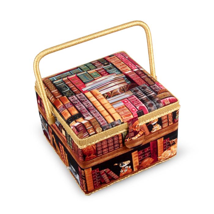 Шкатулка для рукоделия RTO, с вкладышем, 26 х 26 х 19 см ткань для пэчворка rto 110 х 110 см pst 4 80
