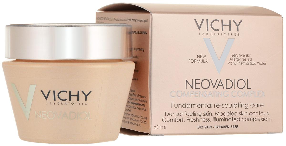 Vichy Neovadiol Компенсирующий комплекс крем-уход для кожи в период менопаузы для сухой и очень сухой кожи, 50 мл недорого