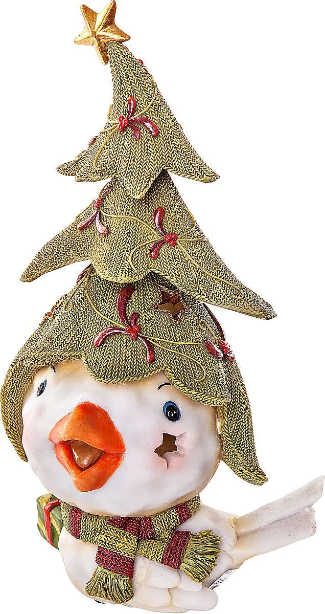 Статуэтка Mister Christmas Птичка с елкой, высота 26 см игрушка новогодняя мягкая mister christmas пряничная девочка высота 13 см