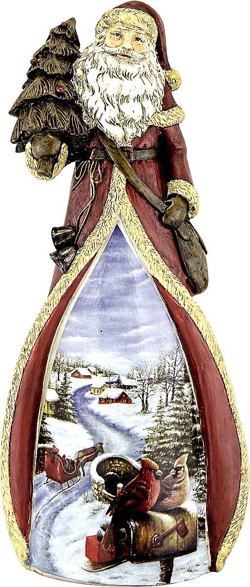 Фигурка новогодняя декоративная Mister Christmas Дед Мороз, высота 22 см украшение новогоднее подвесное mister christmas дед мороз коллекционное высота 10 см us 661211