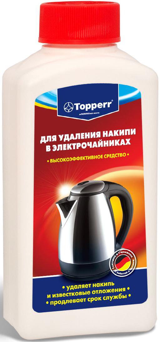 """Средство от накипи """"Topperr"""" для чайников и водонагревательных приборов, 250 мл"""