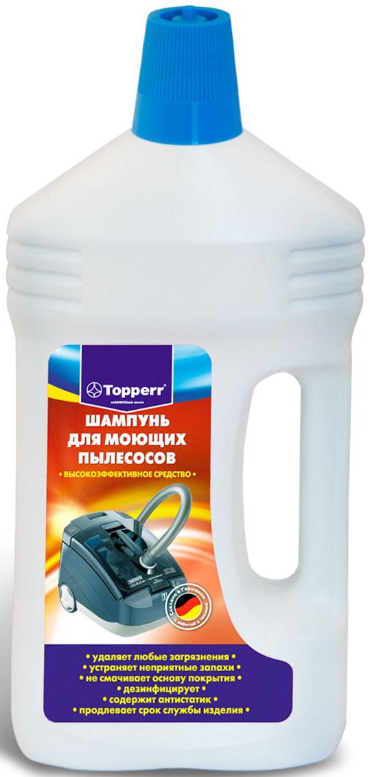 """Шампунь """"Topperr"""", для моющих пылесосов, 1000 мл. 3004"""