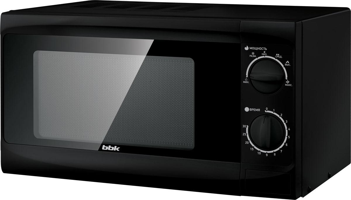 Микроволновая печь BBK 20MWS-706M/B, Black микроволновая печь bbk 23mws 927m w 900 вт белый