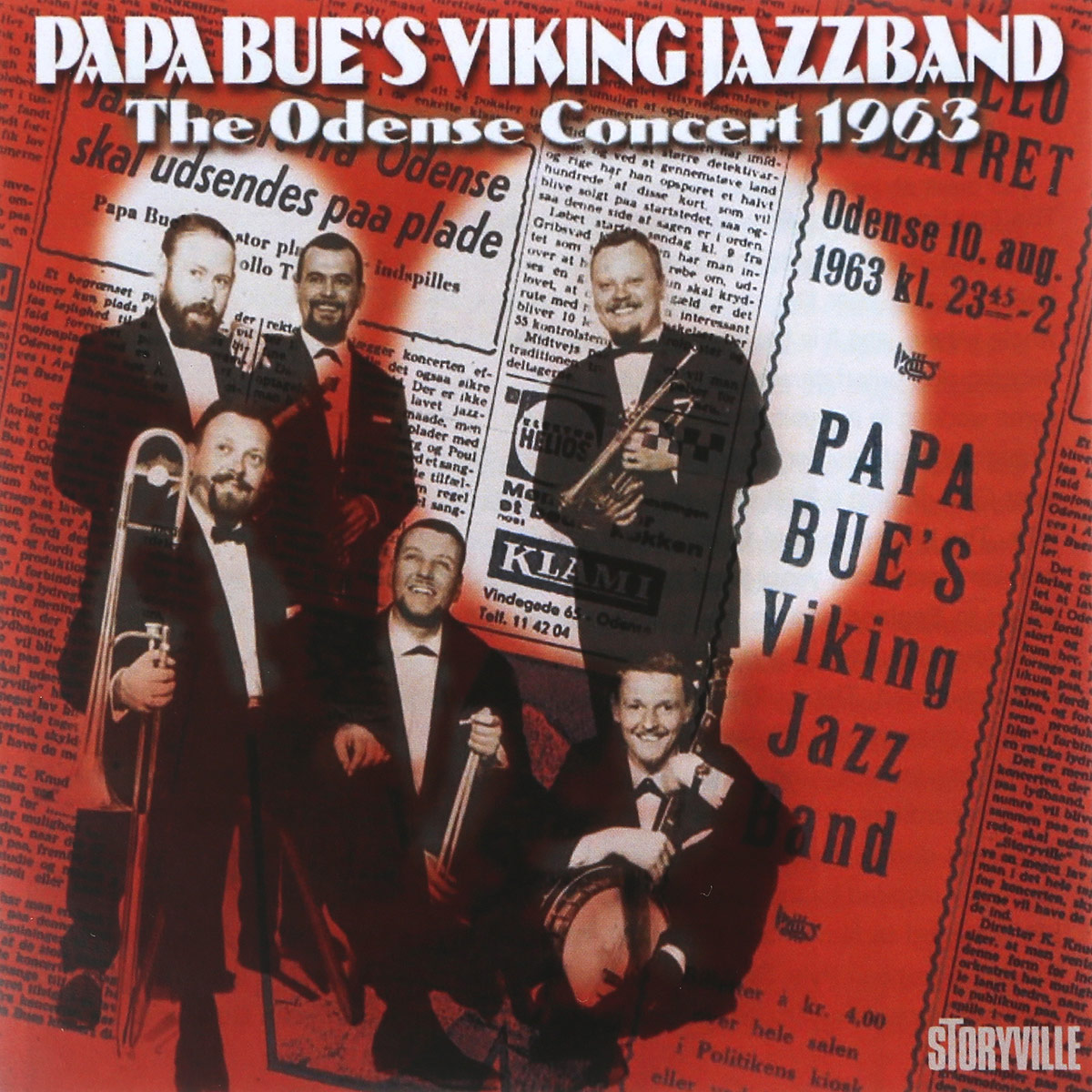 Papa Bue's Viking Jazz Band Papa Bue's Viking Jazz Band. The Odense Concert 1963 papa bue s viking jazz band sandy brown s jazz band the graham stewart seven акер билк his paramount jazz band arne birger s jazzsjak cy laurie s new orleans septet the golden years of revival jazz vol 8
