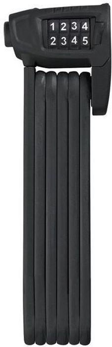 Велозамок Abus Bordo Combo Lite 6150/85, цвет: черный велозамок abus bordo big 6000 120 с ключами цвет красный