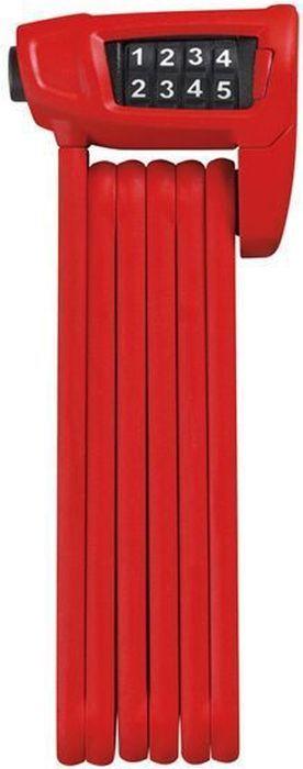 Велозамок Abus Bordo Combo Lite 6150/85, цвет: красный